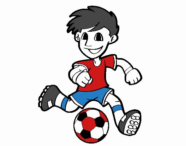 Dibujo De Fútbol Pintado Por Fustapa13 En Dibujos Net El