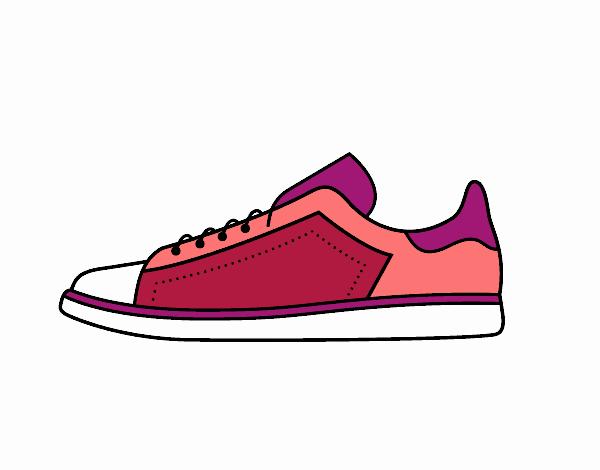 De Día 22 El Dibujo Deportivas Pintado En Por Zapatillas b76ygYf