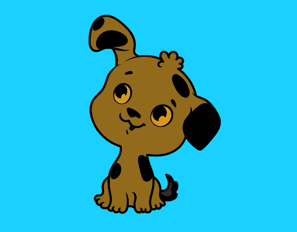 Dibujo de mi perrito consentido  pintado por en Dibujos net