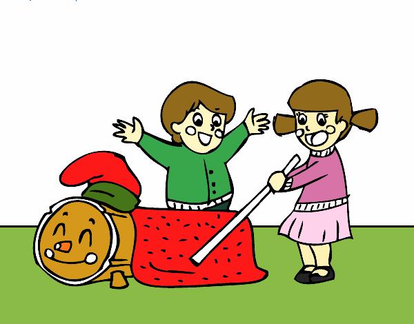 Dibujo de Caga Tió pintado por en Dibujos.net el día 17-11-17 a las  16:41:47. Imprime, pinta o colorea tus propios dibujos!
