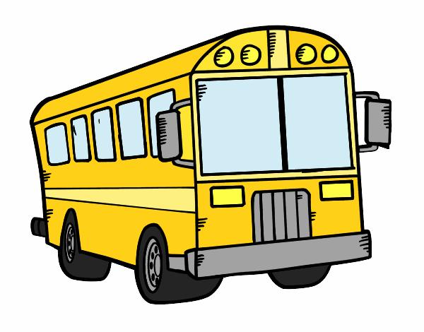 Resultado de imagen de autobus dibujo