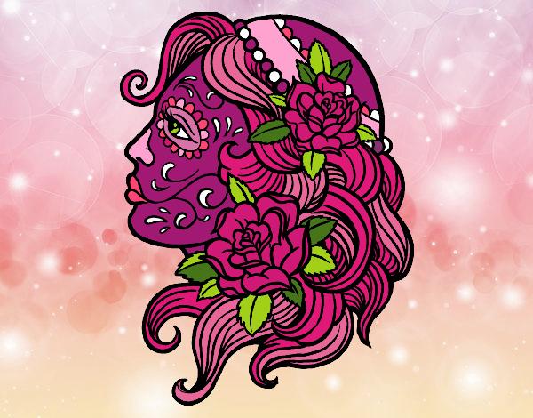 Dibujo De Tatuaje De Catrina Pintado Por Socovos En Dibujosnet El