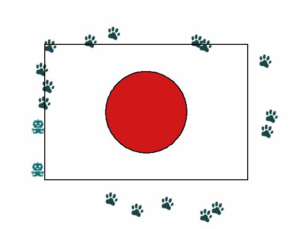 Dibujo de Japón 1 pintado por Sarada en Dibujos.net el día 06-12-17 ...