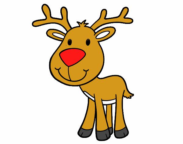 Dibujo de Ciervo bebé pintado por en Dibujos.net el día 14-12-17 a ...