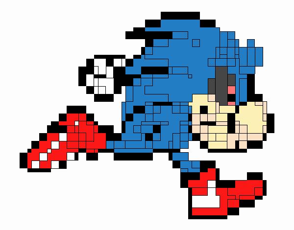 Dibujo De Sonic Exe Pintado Por En Dibujos Net El Día 16 12