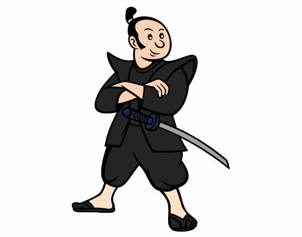 Dibujo de Samurái adulto pintado por en Dibujos.net el día 22-12-17 ...