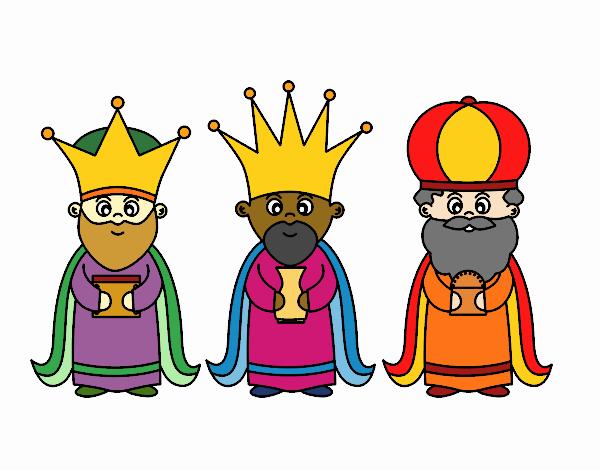 Dibujo De Reyes Magos Pintado Por En Dibujos.net El Día