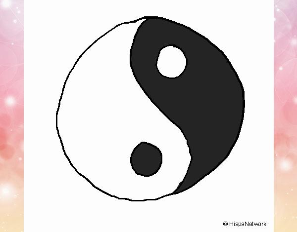 Dibujo De Yin Yang Pintado Por En Dibujosnet El Día 07 01 18 A Las