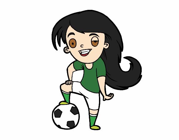 Dibujo De Futbol Pintado Por Maarta En Dibujos Net El Día: Dibujo De Fútbol Femenino Pintado Por En Dibujos.net El