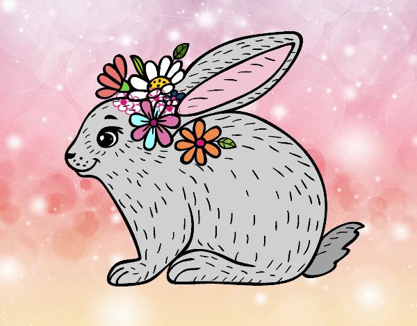 Dibujo De Conejo De Primavera Pintado Por En Dibujosnet El Día 25
