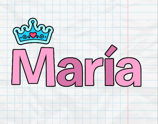 Dibujo de Nombre Maria pintado por en Dibujos.net el día 24-01-18 a ...