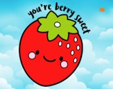 Dibujo You're berry sweet pintado por Davinchi