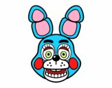 Dibujo Cara de Toy Bonnie de Five Nights at Freddy's pintado por superchic