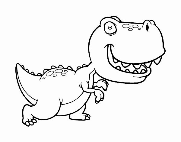 Dibujo De T Rex Pintado Por En Dibujosnet El Día 16 02 18 A Las 11