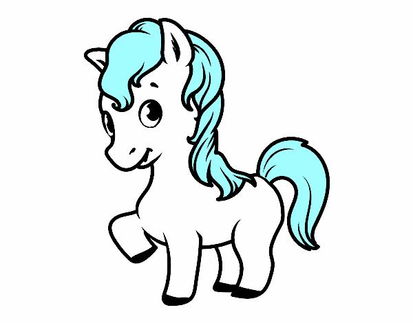 Dibujo de caballo y unicornio pintado por en Dibujos.net el día 12 ...