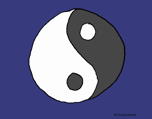 Dibujo De Yin Yang Pintado Por En Dibujosnet El Día 12 02 18 A Las