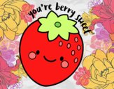 Dibujo You're berry sweet pintado por adrinette1