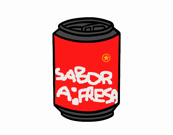 Dibujo De Lata De Coca Cola Pintado Por En Dibujosnet El