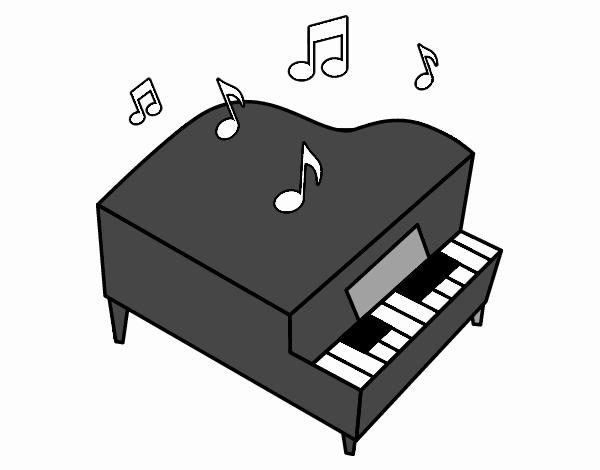 """Resultado de imagen de piano dibujo"""""""