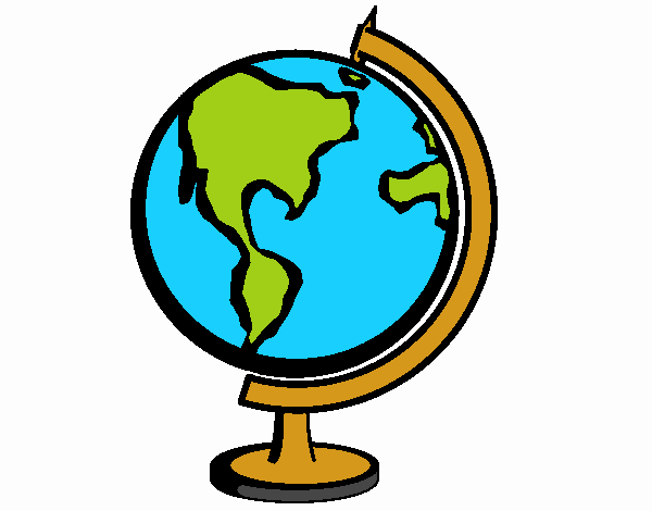Dibujo De Bola Del Mundo Ii Pintado Por En Dibujosnet El Día 09 03