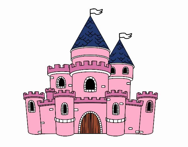 Dibujo De Castillo De Princesas Pintado Por En Dibujosnet El Día 18
