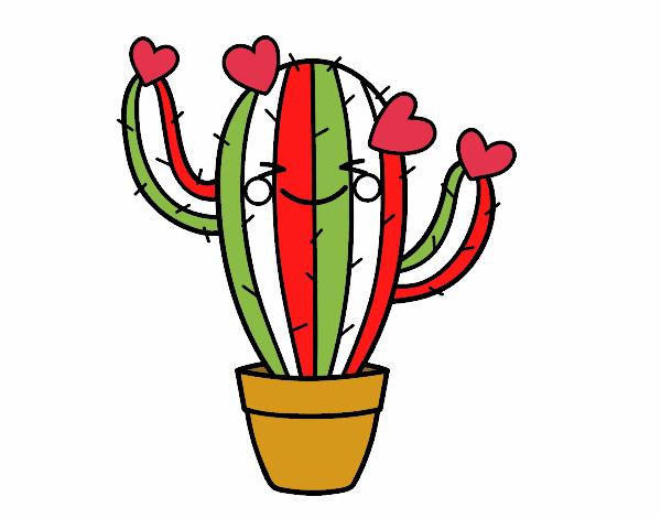 Dibujo de el cactus mexicano pintado por en Dibujos.net el día 21-03 ...