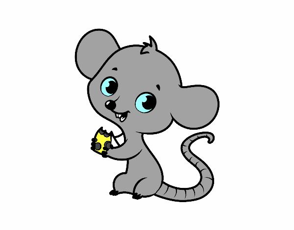 Dibujo de Ratón bebé pintado por en Dibujos.net el día 31-03-18 a ...