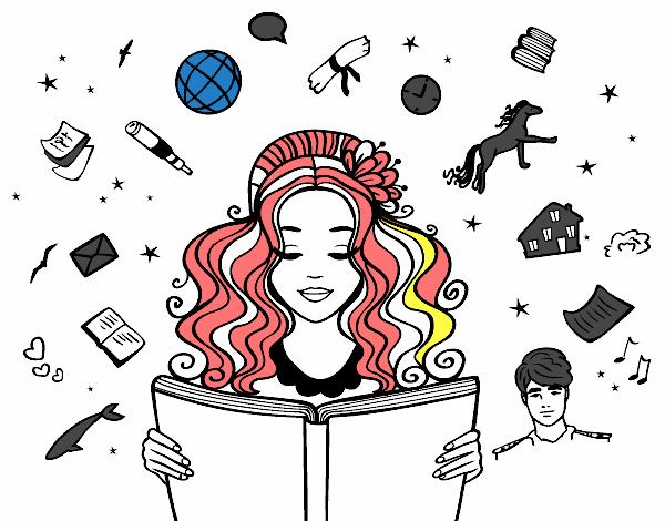 Dibujo De Día Del Libro Pintado Por En Dibujosnet El Día 03 04 18 A