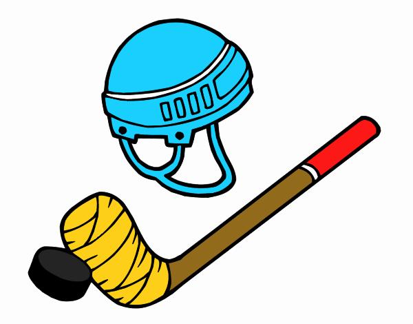 Dibujo de Material de hockey pintado por en Dibujos.net el día 14-04 ...
