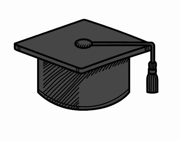 Dibujo De Birrete De Graduación Pintado Por En Dibujosnet El Día 10