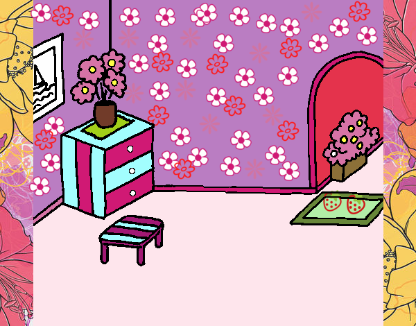 Dibujo De Casa Por Dentro Pintado Por En Dibujosnet El Día 27 05 18
