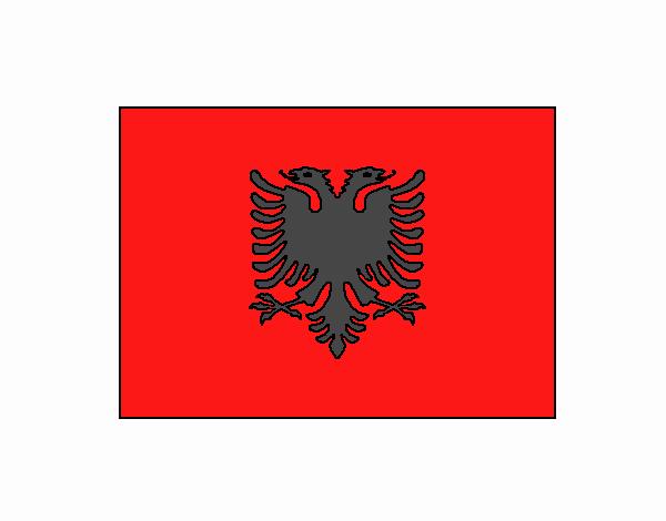 Dibujo de Albania pintado por en Dibujos.net el día 28-05-18 a las ...