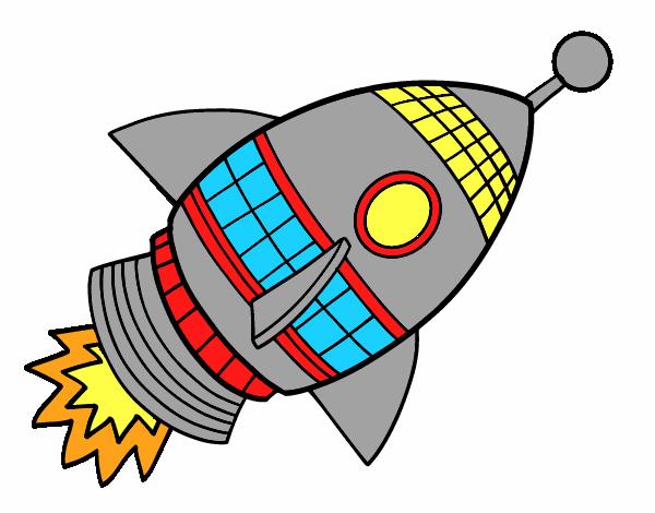 Cohete De Espacio De Dibujos: Dibujo De Cohete Imagui