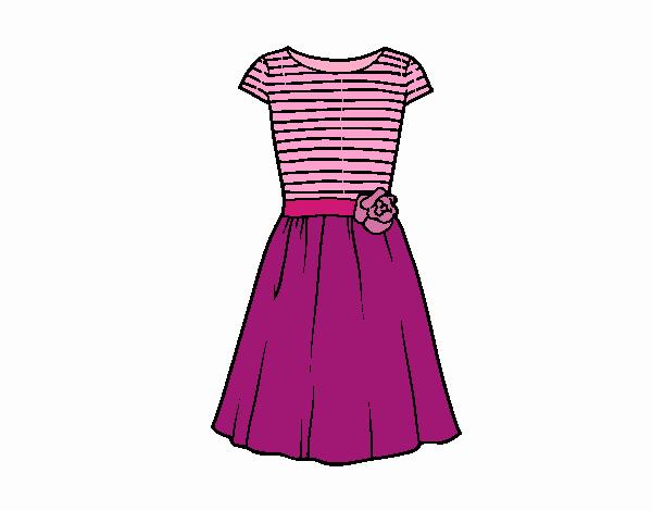 Perfecto Páginas Para Colorear Vestido De Novia Galería - Ideas para ...