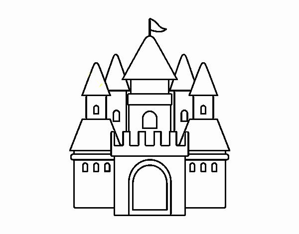 Dibujo de Castillo medieval 2 pintado por en Dibujos.net el día 22 ...
