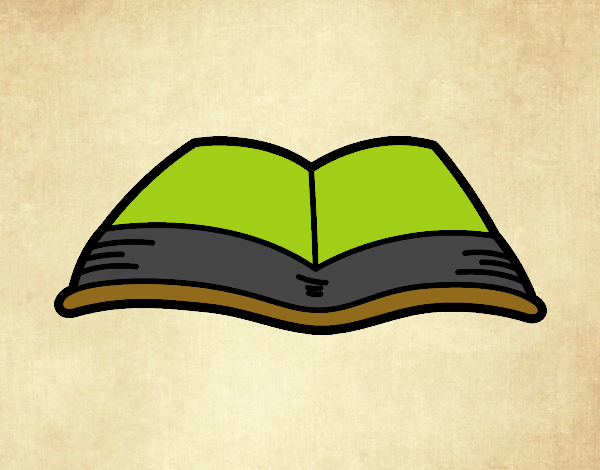 Dibujo De Un Libro Abierto Pintado Por En Dibujos.net El