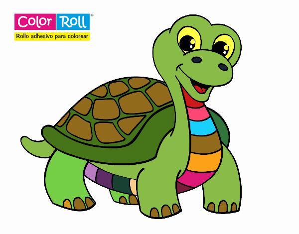 Dibujo de Tortuga Color Roll pintado por en Dibujos.net el día 25-06 ...