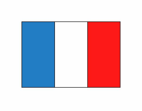 Dibujo de Francia pintado por en Dibujos.net el día 08-07-18 a las ...
