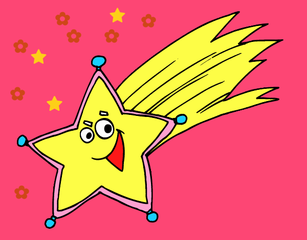 Dibujo De Estrella Fugaz Pintado Por En Dibujos Net El Dia 13 07 18