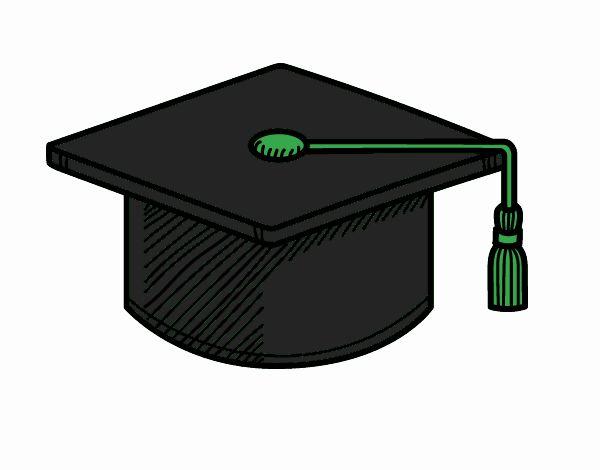 Dibujos De Gorros De Graduación