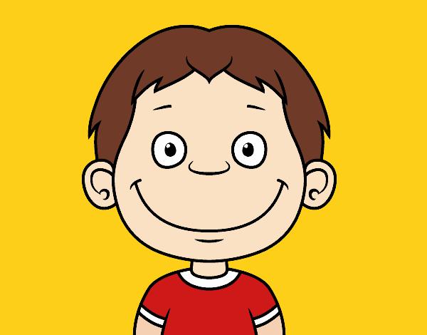 Dibujos Caras De Niños Felices Animadas: Dibujos De Caras De Ninos