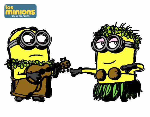 Dibujo de Minions - Dave y Phil pintado por en Dibujos.net el día 23 ...