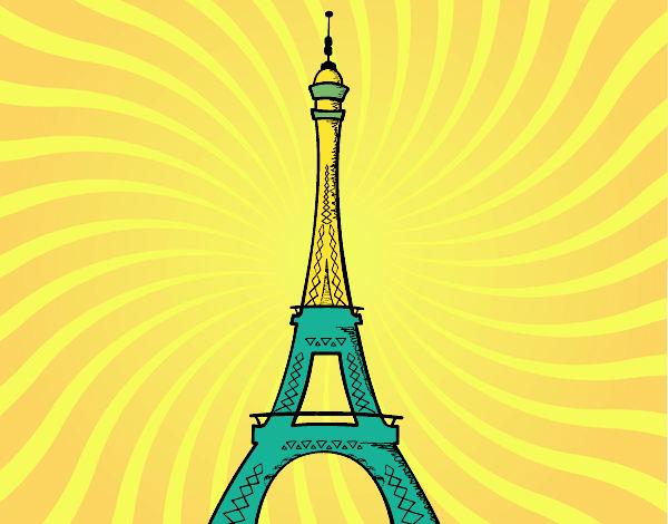 Torre Ifel En Dibujo: Dibujo Torre Eiffel Png