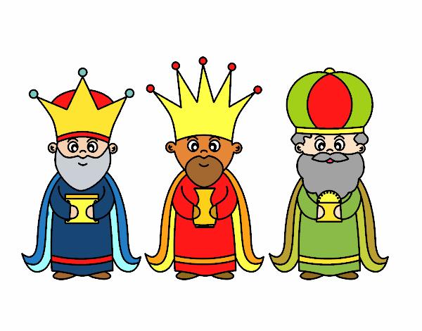 Dibujo De Los 3 Reyes Magos Pintado Por En Dibujosnet El Día 01 08