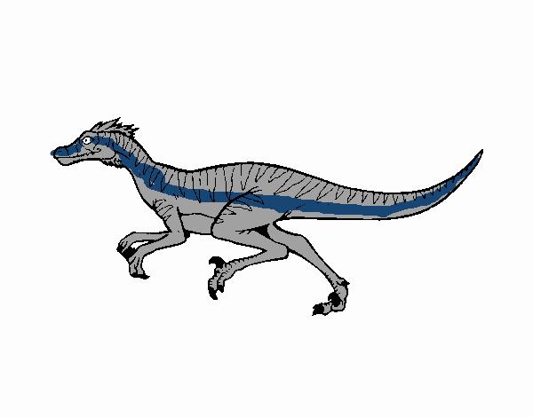 Dibujo de Velociraptor pintado por en Dibujos.net el día 02-08-18 a ...