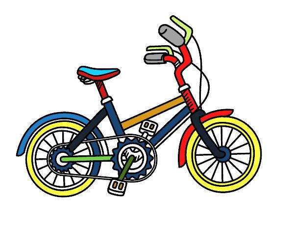 Dibujo de Bicicleta para niños pintado por en Dibujos.net el día 10 ...