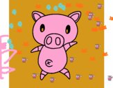 Cerdito graffiti