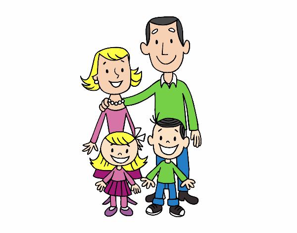 Dibujo De Una Familia Pintado Por En Dibujosnet El Día 24 08 18 A