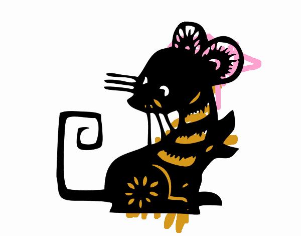 Dibujo de Signo de la rata pintado por en Dibujos.net el día 13-09 ...