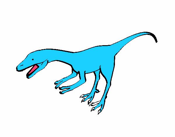 Dibujo de Velociraptor II 1 pintado por en Dibujos.net el día 21-09 ...